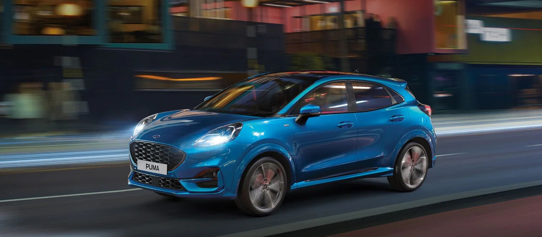 Διαμορφώστε Online το νέο Ford Puma